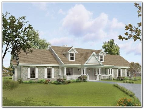 Ranch Style Homes Plans by Front Porch Designs For Raised Ranch Homes Portico
