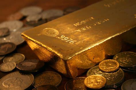 Gold Bullion 250gr B O S shiny gold bar reflecting coins flickr photo