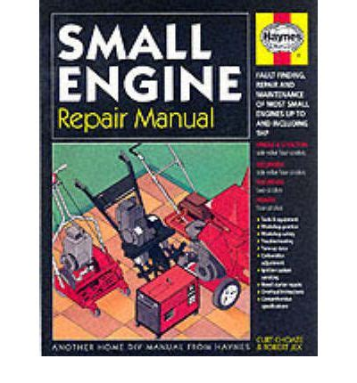 service manual small engine repair manuals free download small engine repair manual 9781850107552