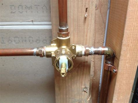 how to install bathtub faucet valve plumbing shower valve installation quotes