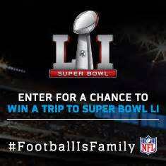 Ticketmaster Super Bowl Sweepstakes - ticketmaster super bowl li football is family sweepstakes
