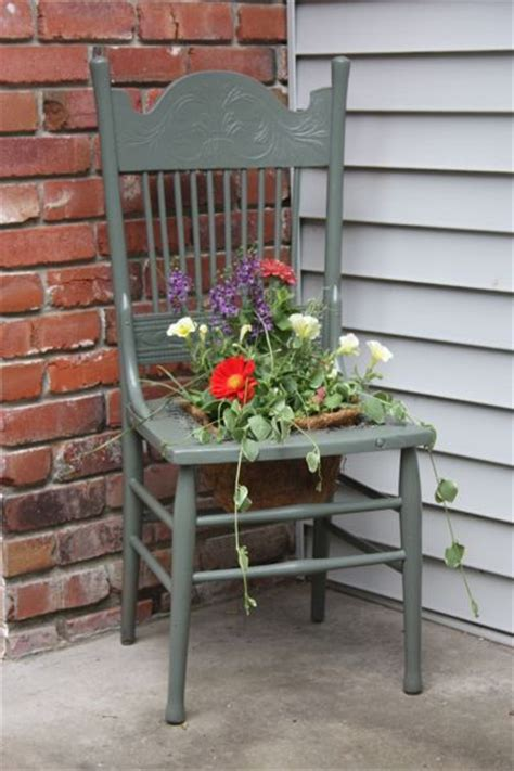 Chair Planter by Chair Planter For The Home