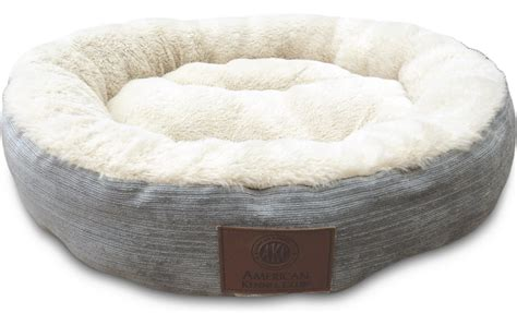 american kennel club dog beds american kennel club casablanca round pet bed blue