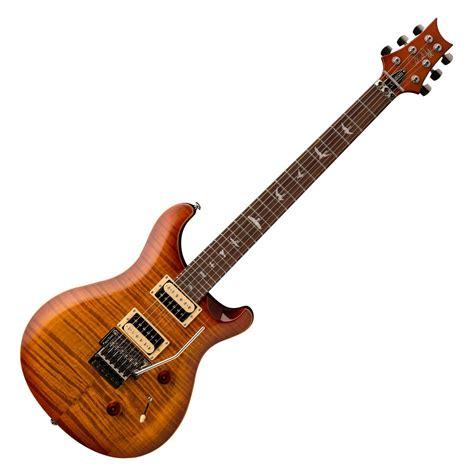 Gitar Prs 9 prs se custom 24 floyd electric guitar vintage sunburst at gear4music