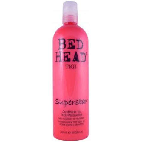 bed head conditioner tigi bed head superstar conditioner 750ml free delivery