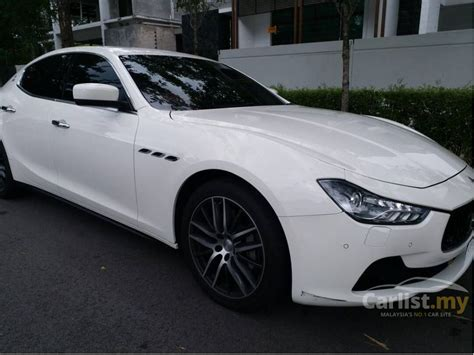 maserati sedan 2015 maserati ghibli 2015 s 3 0 in penang automatic sedan white