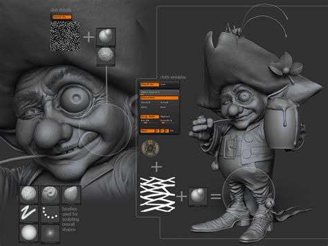 tutorial zbrush cartoon 432 best tutorials images on pinterest tutorials zbrush
