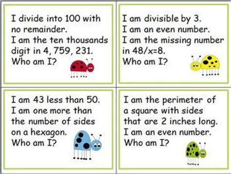 fourth grade and fifth grade math 100 riddles for the