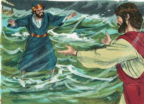 rock the boat jesus bible fun for kids jesus walks on water