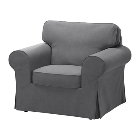 armchair covers ektorp armchair cover nordvalla grey ikea
