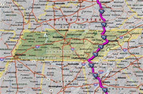 kentucky map i 75 opinions on interstate 75 in tennessee