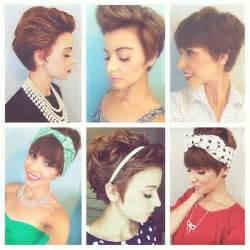 how to style your hair while a pixie grows out pin by emma gustavson on nothingbutpixies pinterest