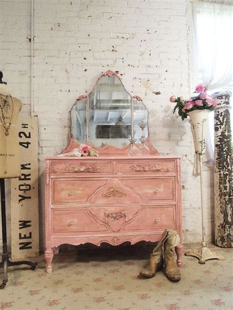 Shabby Chic Painted Dressers by Painted Cottage Chic Shabby Vintage Dresser Dr106