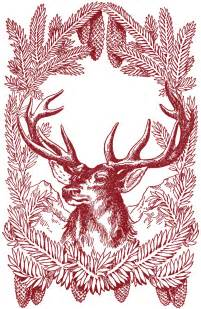 vintage christmas deer images graphicsfairy red graphics fairy