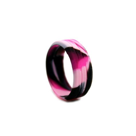 rubber wedding sts womens pink camo wedding bands mini bridal