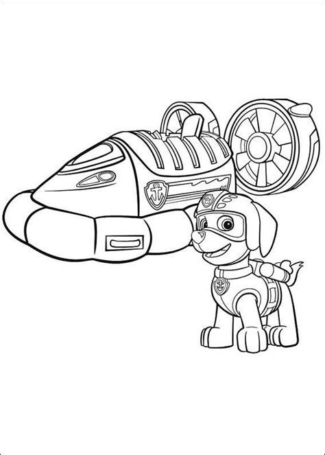 paw patrol air pups coloring page dibujos para colorear de la patrulla canina