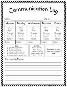 communication log preschool items juxtapost