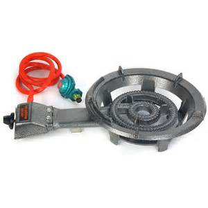 Propane Outdoor Cooktop Single Gas Propane Burner Stove Outdoor Camping Tailgate