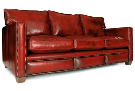 spitalfield original leather large 4 seater sofa from