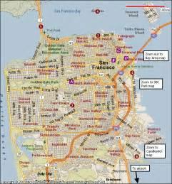 San Francisco Ca Map by San Francisco California Map Related Keywords