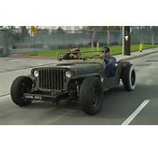 Jeep Mb Rat Rod With Hot Guys Front View 2