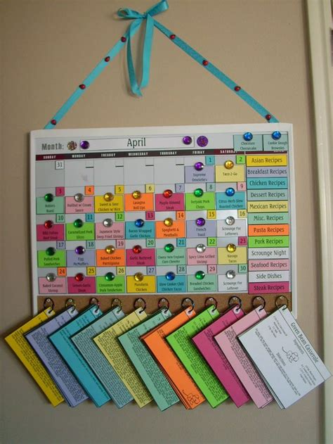 make family calendar how to make a family calendar best 25 monthly meal