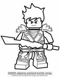 Ninjago Kai KX In Elemental Robe Coloring Page  H &amp M Pages