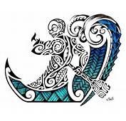 Mejor Plantilla Dise&241o De Tatuaje Maori 2012 Tiki Polinesio Remando