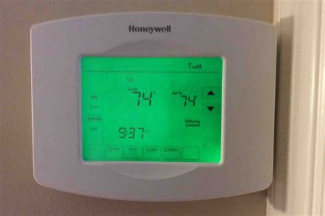 Resetting Wifi On Honeywell Thermostat | how to reset honeywell thermostat rth8580wf to factory