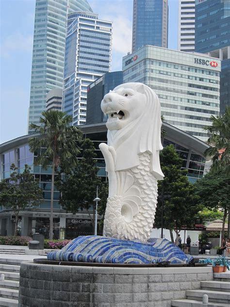 Pajangan Merlion Singapore the dilettante photographer merlion singapore