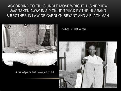Mother In Law Cottage the murder of emmett louis till