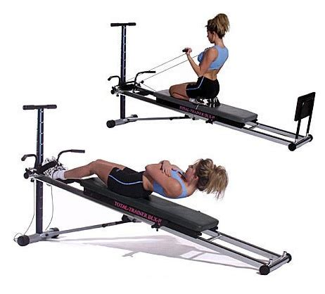 bayou fitness total trainer dlx ii home