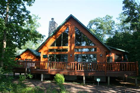 log homes for sale on lake petenwell wisconsin