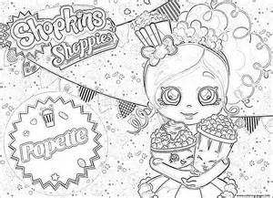 Print shopkins popette official coloring pages free printable