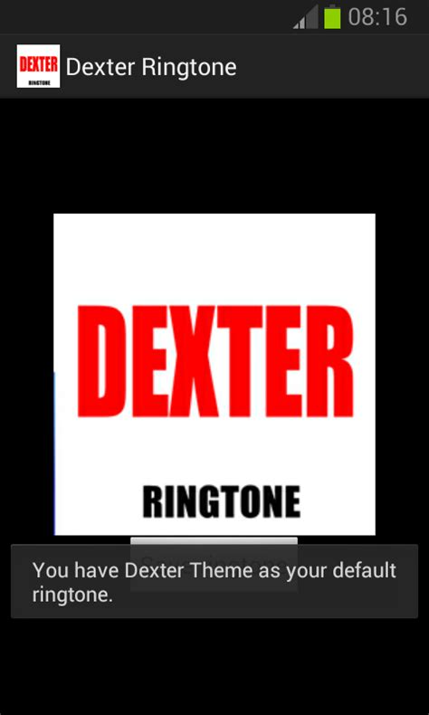themes and ringtone dexter ringtone android apps on google play