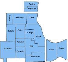 Chicago County Map by Chicago Metropolitan Area Familypedia Fandom Powered