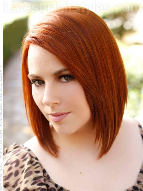 hairstyles for medium length hair red 45 cutest shoulder length bob hairstyles for 2018