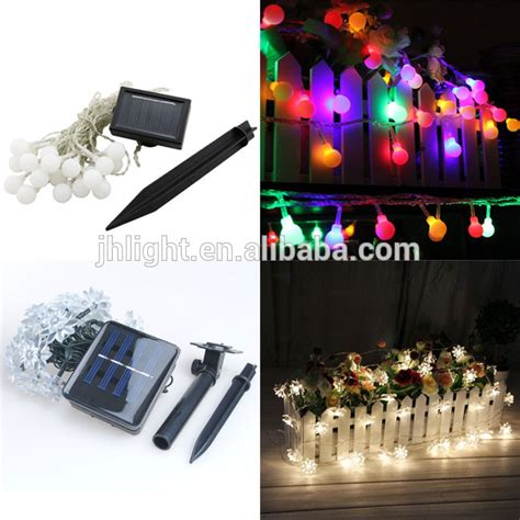 outdoor decorative lighting strings led solar string light outdoor decorative lighting for