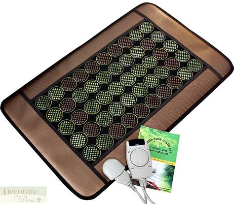 sauna floor mat pad 6 far infrared heat jade tourmaline