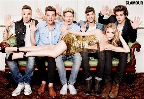 imagenes super hot one direction one direction and rosie huntington whiteley s glamour