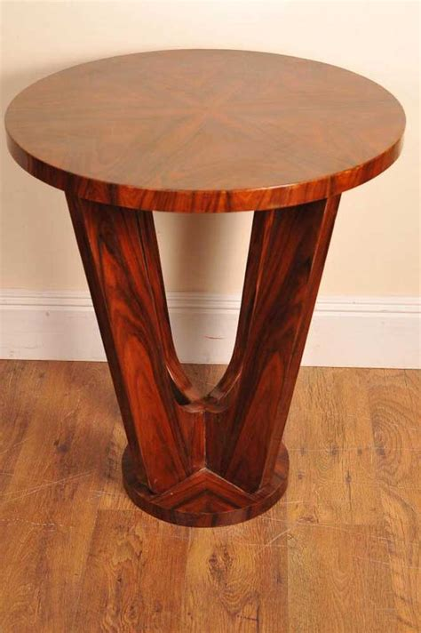 deco side table rosewood deco side table occasional tables
