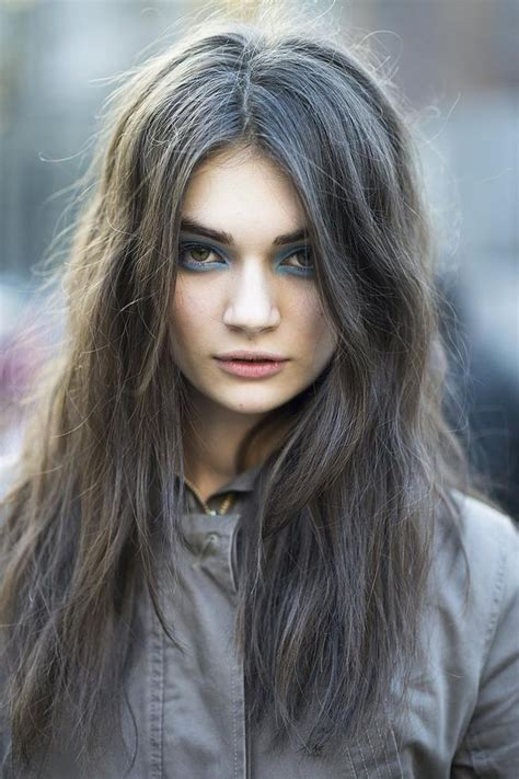 grey blonde and brown hairstyles dark grey grey hair inspiration pinterest ash my