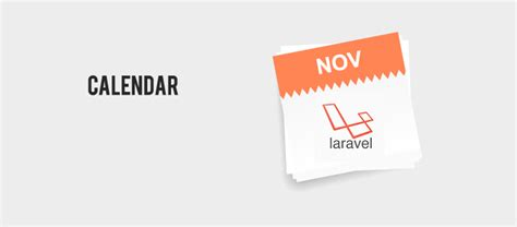 laravel calendar tutorial learn how to use calendar in laravel eduonix blog