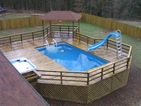 swimming pool decks narrowest rectangular above ground pool pool slides
