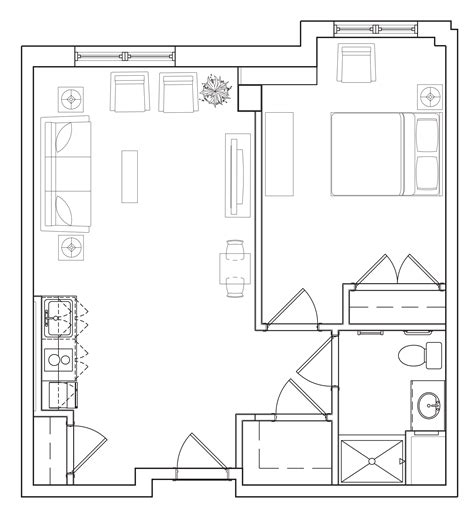 Master Bedroom Layout Decobizz Com One Bedroom Design Layout