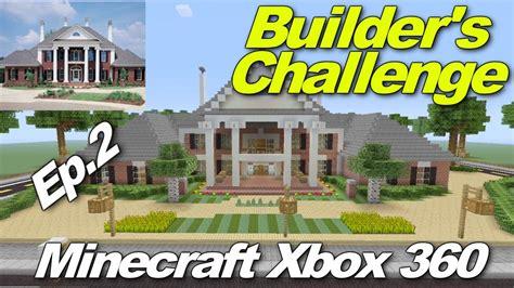 minecraft xbox 360 challenges minecraft xbox 360 builder s challenge episode 2