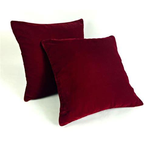 red throw pillows for bed velvet pillow burgundy pillow plush dorm throw pillow