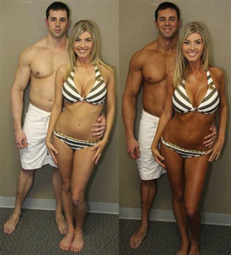 spray tan vs tanning bed laminin beauty gallery