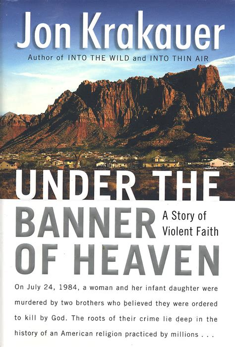 heaven book the banner of heaven vangie13 cbr 42 the banner of heaven by jon