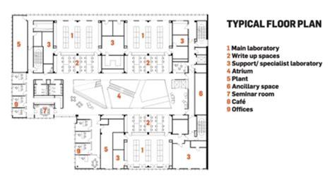 brown university floor plans biochemistry center hawkins brown archdaily
